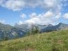 Vilan 2376m, Glegghorn 2450m, Falknis  2562m, Richberg 2555m, Vorder- Hinter-Grauspitz, Naafkopf 2570m