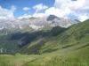 Sicht hinunter zur Alp  Ludera  1798m