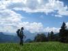 Marianne auf der Alp Munt