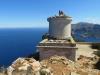 alter Turm; hier stand der  Leuchtturm  Far de Na Pòpia