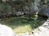 Wasser im trockenen Tal