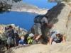 eine Kletterpartie