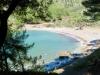 der Strand von Cala Tuent