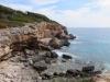 Blick auf die Steilküste