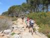 Wandern an der Küste der Naturparks Mondrago