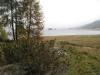 die Landzunge von Maloja