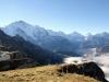 Bergstation Männlichen Seilbahn mit li Tschuggen