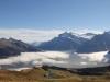 Wildgärst 2890m, Schwarzhorn 2928m, Gemsberg 2658m, Titlis 3238m, Spannorte, Gr. Engelhorn 2782m, Scheideggwetterhorn 3361m