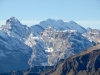 Gspaltenhorn 3437m, vo Bütlassen 3192m, Morgenhorn 3627m, Weisse Frau 3650m, Blüemlisalphorn 3664m, hi Doldenhorn