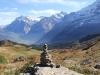 Titlis 3238m, Spannorte, Gr. Engelhorn 2782m, Scheideggwetterhorn 3361m, Wetterhorn 3701m, Lauterarrhorn 4042m