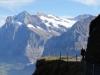 Wetterhorn 3701m, Mittelhorn 3704m, Rosenhorn 3609m