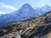 Eiger 3970m, Mönch 4099m
