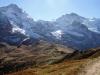 Mönch 4099m, Sphinx 3569m, Jungfrau 4158m, Silberhorn 3695m