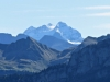 Rosenhorn 3689m, Mittelhorn 3704m, Wetterhorn 3692m
