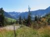 Blick  gegen Kemmeribodenbad im Talmit Tannhorn