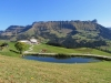 Teich bei Oberlochsitli  1381m; Strick 1946m, Hächlen 2091m, Hengst 2092m,   Türstenhäuptli 2029m, Schibengütsch 2037m