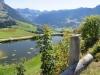 Teich bei Oberlochsitli  1381m; Tannhorn 2221m