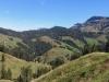 Blick von der Marbachegg gegen Nordost; Strick 1946m, Hächlen 2091m