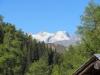 Blick hinüber zum Grosses Fusshorn 3626m, Rotstock 3701m, Geisshorn 3740m,Zenbächenhorn 3386m, Rothorn 3271m