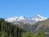 Grosses Fusshorn 3626m, Rotstock 3701m, Geisshorn 3740m,Zenbächenhorn 3386m, Rothorn 3271m