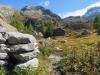 wunderbare Landschaft beim Aufstieg zum Mässersee