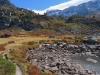 am Mässersee 2130m; Rothorn 2887m, Schwarzhorn 3108m