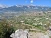 Sicht vom Mont d'Orge auf die Weinberge