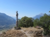 die Marienstatue auf dem Mont d'Orge ; le Grand Chavelard