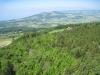 Sicht vom Turm auf dem Mont Pèlerin 1067m