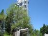 der Turm auf dem Mont Pèlerin 1067m