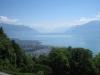 Sicht auf Vevey