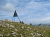 Mont Racine  1439m; Blick zurück zu Les Grandes Pradières  dessus