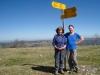 Marianne und Bruni auf dem Mont Sujet 1288m
