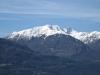 der verschneite Monte Tamaro