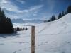 Blick auf die Route; hi li Fronalpstock: mi Uri Rotstock, Schlieren