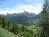 Saashörner,  Mittagshorn 3015, Blashorn   2777m, Hammer 2747m, Nufenenpass