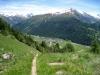Tällistock, 2861m, Gross - und Chli - Muttenhörner, Saashörner, Mittagshorn 3015, Blashorn 2777m, Hammer 2747m