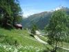 Saashörner,  Mittagshorn 3015, Blashorn   2777m