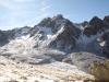 Piz Languard 3175m,  Piz Muragl 3157m,  mit Gletscher