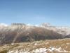 Panorama von Muottas Muragl:  hi  Piz Üertsch 3267m, Piz  Blaisun  3200m, Piz Kesch 3417m