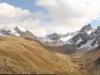 Panorama von Muottas Muragl: Il Corn 3137m, Piz Vadret 3199m, Fuorcla  Muragl 2891m, Piz Muragl 3157m