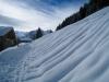 Schneeschuhtrail oberhalb Mürren