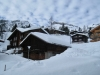 Winterstimmung in Mürren; Birg Mittelstation