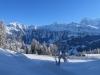 Männlichen 2343m, Tschuggen 2521m, Lauberhorn 2472m, Eiger 3970m