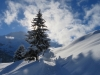 tiefster Winter auf dem Weg zur Winteregg