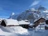 Eiger, Jungfrau, Schwarzer Mönch mit Mürren Dorf