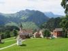 Blick auf Niederrickdenbach   1158m mit Stanserhorn