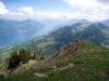 Blick zum Vierwaldstättersee; Klewenalp und Klewenstock