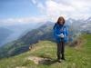 Marianne auf der Musenalp:  Klewenalp