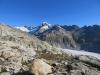 Rhonegletscher; wunderbare alpine Landschaft;  Galenstock 3586m